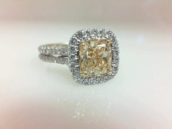 Diamond Engagement Ring by Yael Designs