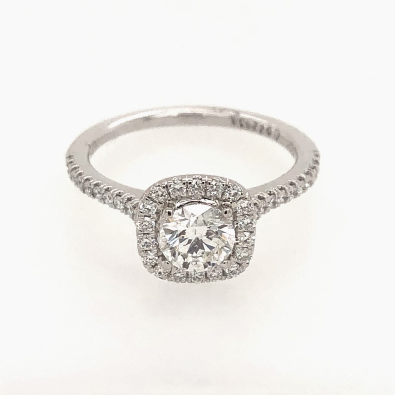 Diamond Engagement Ring by Martin Flyer