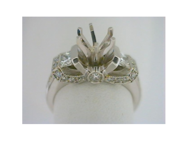 Diamond Semi-Mount Ring by Jewelry Innovations