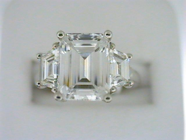 Diamond Semi-Mount Ring by Martin Flyer