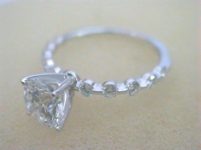 Diamond Semi-Mount Ring by Elma-Gil