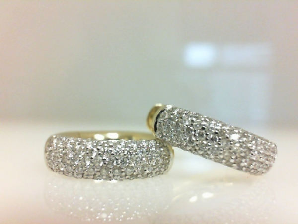 Diamond Earrings by Breuning