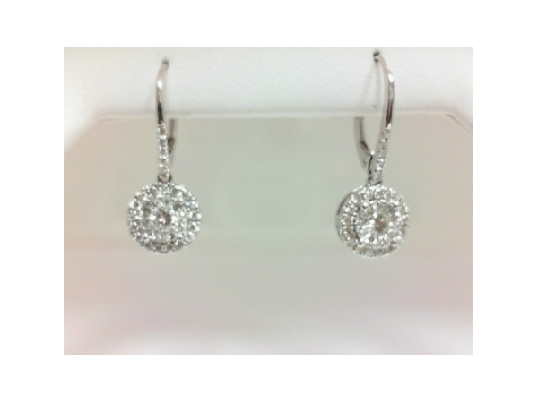 Diamond Earrings by Martin Flyer