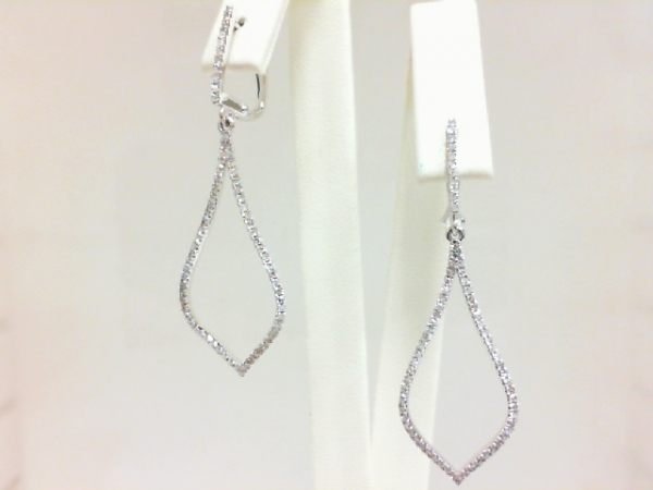 Diamond Earrings by H. Weiss