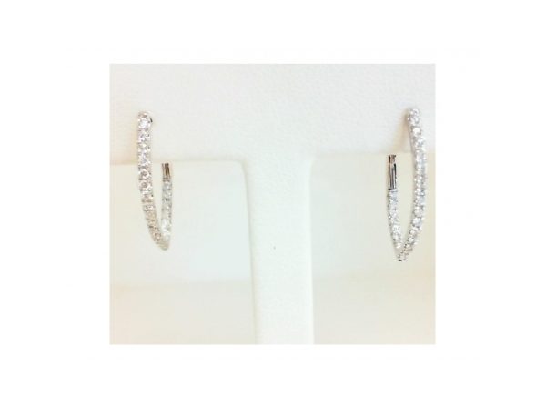 Diamond Earrings by Frederic Sage