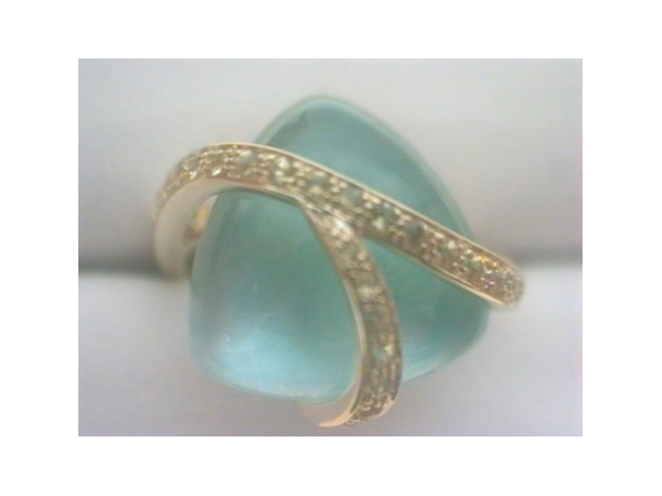 Colored Stone Ring by Cherie Dori