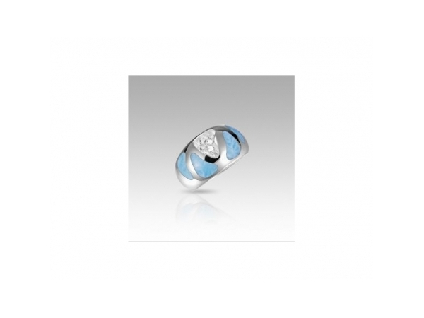 Surf Ring by Marahlago Larimar