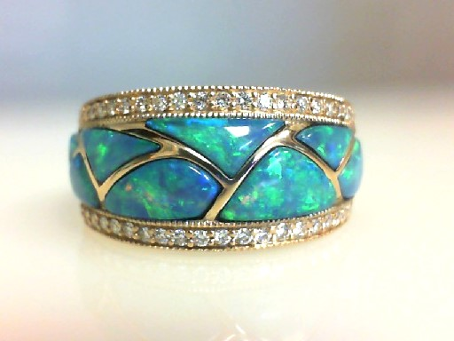 Colored Stone Ring by Kabana