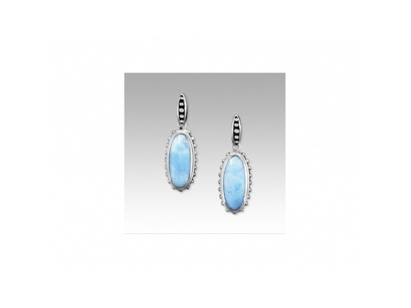 Gemini Earrings by Marahlago Larimar