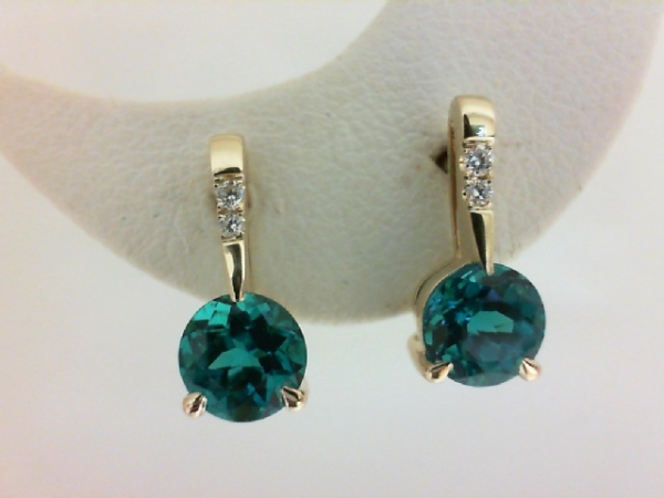 Colored Stone Earrings by Chatham
