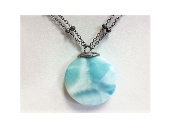 Legacy Necklace by Marahlago Larimar